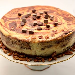 The Confection Cottage Turtle Cheesecake